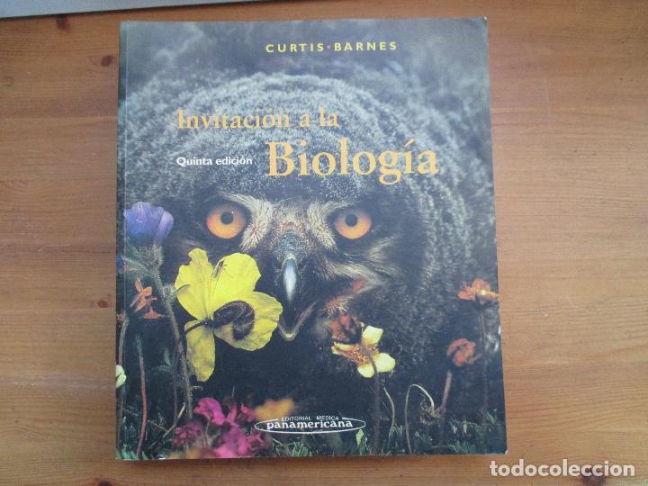 INVITACIÓN A LA BIOLOGÍA. HELENA CURTIS. EDITORIAL MÉDICA PANAMERICANA (Libros de Segunda Mano - Ciencias, Manuales y Oficios - Biología y Botánica)
