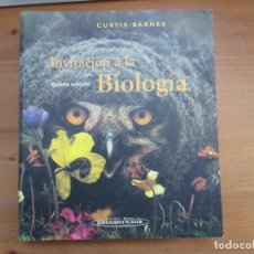Libros de segunda mano: INVITACIÓN A LA BIOLOGÍA. HELENA CURTIS. EDITORIAL MÉDICA PANAMERICANA. Lote 149686654