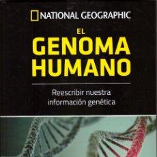 Libros de segunda mano de Ciencias: EL GENOMA HUMANO - RBA, NATIONAL GEOGRAPHIC. Lote 149891542