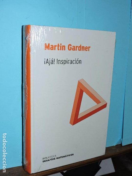 ¡AJÁ! INSPIRACIÓN. GARDNER, MARTIN. COL. BIBLIOTECA DE DESAFÍOS MATEMÁTICOS. (Libros de Segunda Mano - Ciencias, Manuales y Oficios - Física, Química y Matemáticas)