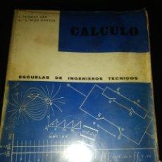 Libros de segunda mano de Ciencias: CÁLCULO. ESCUELA DE INGENIEROS TÉCNICOS. L. THOMAS ARA, M° E. RÍOS GARCÍA. SANTANDER 1969. RÚSTICA.. Lote 150070145