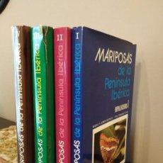 Libros de segunda mano: ENTOMOLOGIA - MARIPOSAS DE LA PENÍNSULA IBÉRICA. 4 TOMOS (I-IV). GÓMEZ BUSTILLO-. Lote 150105094