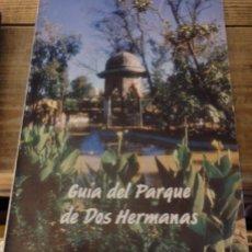 Libros de segunda mano: BOTANICA, GUIA DEL PARQUE DE DOS HERMANAS. Lote 150359850