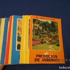 Libros de segunda mano: MIS AMIGAS LAS FLORES 10 TOMOS-CUADERNOS EDITORIAL GUSTAVO GILI AÑOS 1964-1968.. Lote 150603274