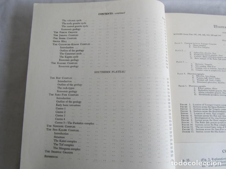 Libros de segunda mano: The Geology of the Jos Plateau V. 2 1971 Geological Survey of Nigeria, 6 mapas geológicos En inglés - Foto 7 - 150625758