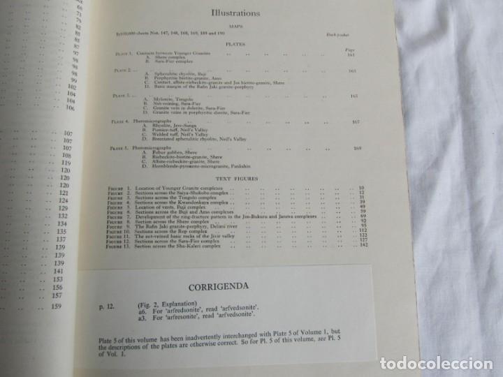 Libros de segunda mano: The Geology of the Jos Plateau V. 2 1971 Geological Survey of Nigeria, 6 mapas geológicos En inglés - Foto 8 - 150625758