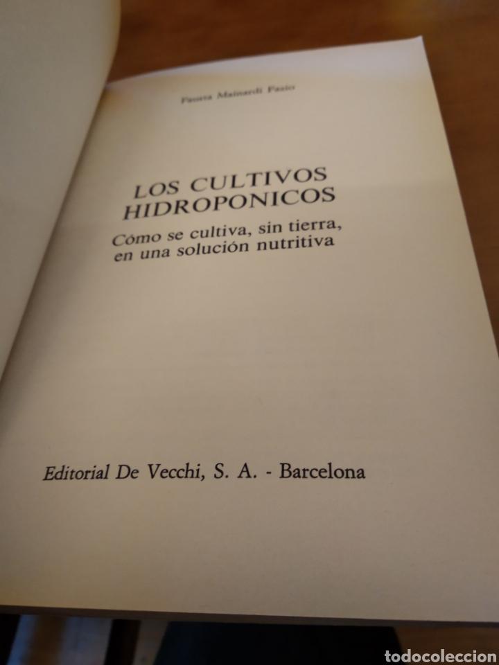 Libros de segunda mano: FAUSTA MAINARDI FAZIO. LOS CULTIVOS HIDROPONICOS - Foto 2 - 150986165