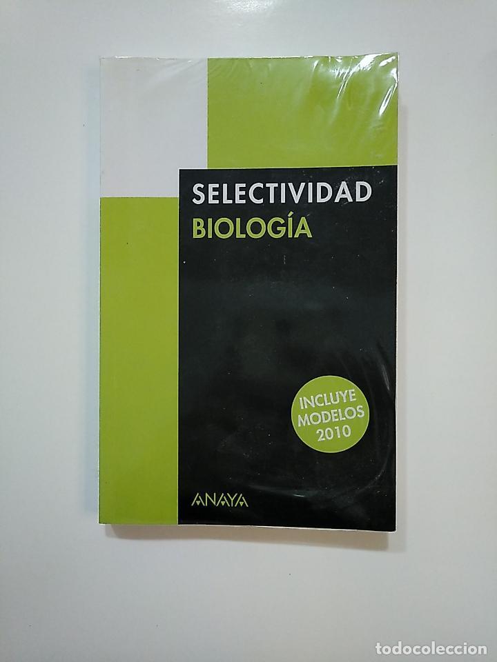 SELECTIVIDAD QUIMICA. ANAYA. INCLUYE MODELOS 2010. CARLOS ORTEGA. TDK362 (Libros de Segunda Mano - Ciencias, Manuales y Oficios - Biología y Botánica)