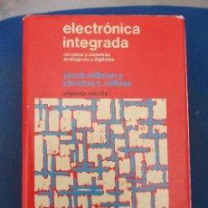 Libri di seconda mano: ELECTRONICA INTEGRADA. Lote 151083890