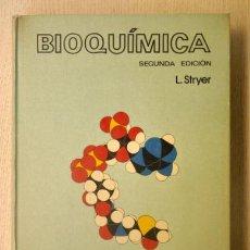 Libros de segunda mano: BIOQUÍMICA - STRYER, LUBERT. Lote 151111512