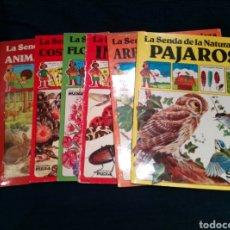 Livres d'occasion: COLECCIÓN 6 VOL. LA SENDA DE LA NATURALEZA. EDICIONES PLESA.. Lote 151155638