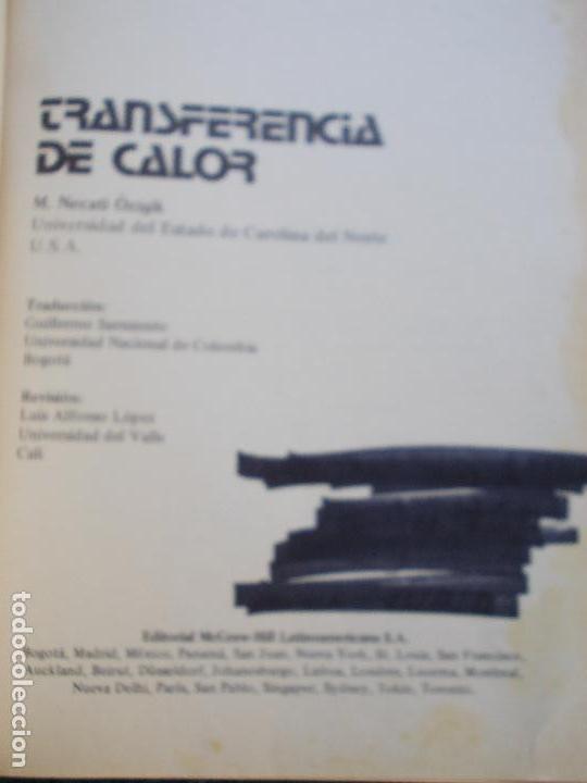 Libros de segunda mano de Ciencias: Transferencia de calor - Foto 3 - 151350466