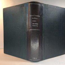 Libros de segunda mano de Ciencias: CURSO DE TÉCNICA DE LAS MEDIDAS FÍSICAS Y FISICO-QUÍMICAS. CLAVERA ARMENTEROS, JOSÉ M.ª. 1942. Lote 151523526