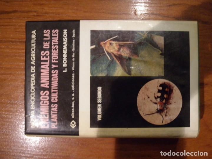 Libros de segunda mano: ENCICLOPEDIA TRES TOMOS ENEMIGOS ANIMALES DE LAS PLANTAS CULTIVADAS Y FORESTALES - Foto 2 - 151532382