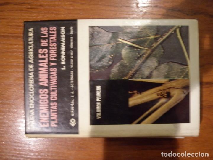 Libros de segunda mano: ENCICLOPEDIA TRES TOMOS ENEMIGOS ANIMALES DE LAS PLANTAS CULTIVADAS Y FORESTALES - Foto 3 - 151532382