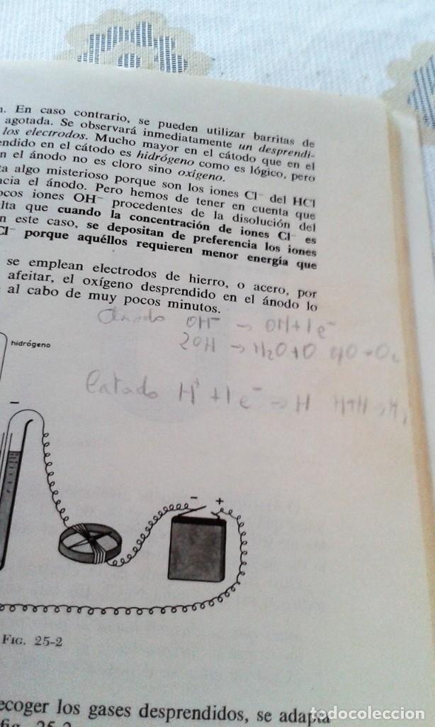 Libros de segunda mano de Ciencias: FÍSICA Y QUÍMICA 4º CURSO AGUSTÍN PÉREZ BOTELLA MARFIL - Foto 3 - 151533150
