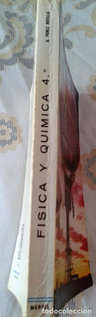 Libros de segunda mano de Ciencias: FÍSICA Y QUÍMICA 4º CURSO AGUSTÍN PÉREZ BOTELLA MARFIL - Foto 5 - 151533150