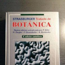 Livres d'occasion: TRATADO DE BOTÁNICA STRASBURGER. Lote 151596778