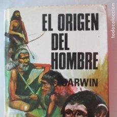 Libros de segunda mano: DARWIN. EL ORIGEN DEL HOMBRE. TOMO II. CLÁSICOS PETRONIO. 1973. Lote 151608234