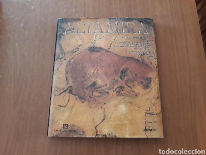 LIBRO CUEVAS DE ALTAMIRA. CANTABRIA. (Libros de Segunda Mano - Ciencias, Manuales y Oficios - Paleontología y Geología)
