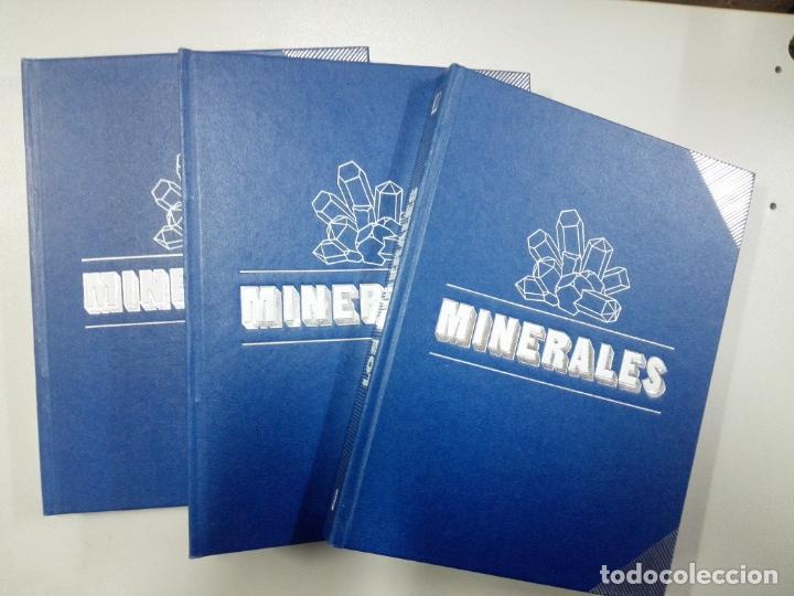 LOS MINERALES - VARIOS AUTORES (Libros de Segunda Mano - Ciencias, Manuales y Oficios - Paleontología y Geología)