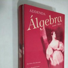 Libros de segunda mano de Ciencias: ÁLGEBRA LINEAL BÁSICA. SANZ Y TORRE. ANA MARIA DIAZ HERNANDEZ. ELVIRA HERNANDEZ GARCIA. TDK367. Lote 151724526