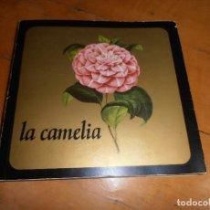 Libros de segunda mano: CAMELIA. RECOPILACION DE TRABAJOS SOBRE LA CAMELIA. FLORES. PLANTAS. D. PONTEVEDRA. GALICIA.. Lote 151888254