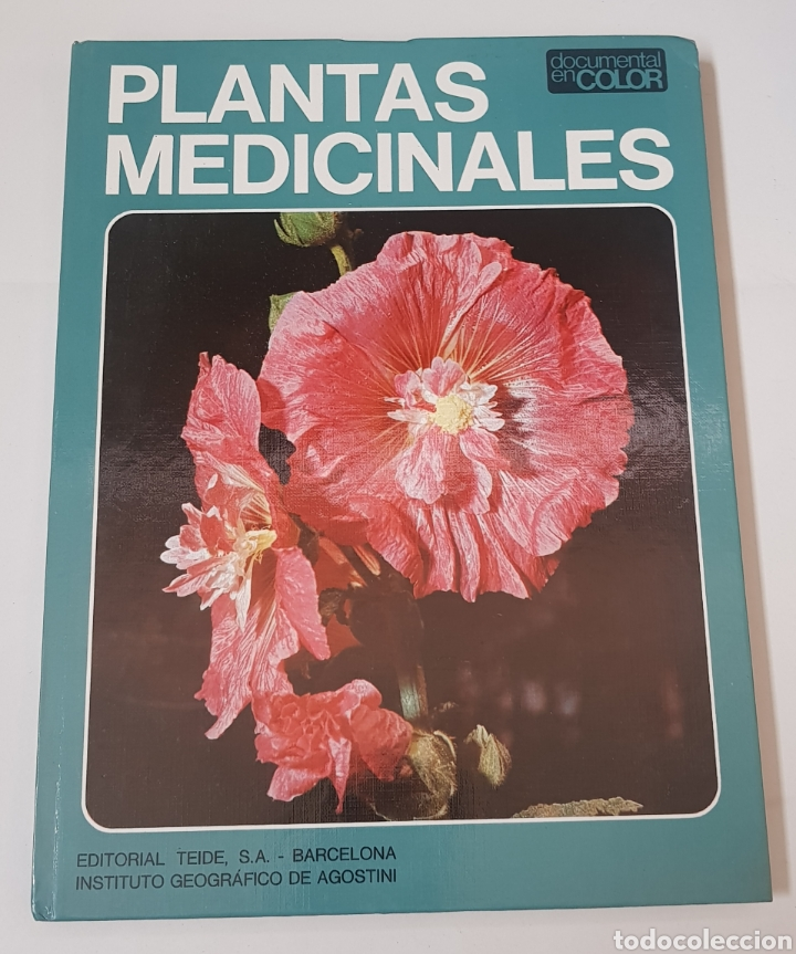 PLANTAS MEDICINALES - DOCUMENTAL EN COLOR - ED. TEIDE - AGOSTINI - 1973 - ARM08 (Libros de Segunda Mano - Ciencias, Manuales y Oficios - Biología y Botánica)