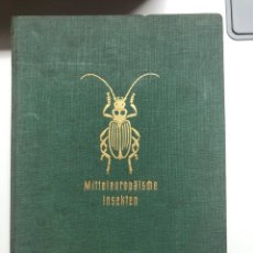Libros de segunda mano: MITTELEUROPÄISCHE INSEKTEN. HAMBURG. 1956. Lote 151957218