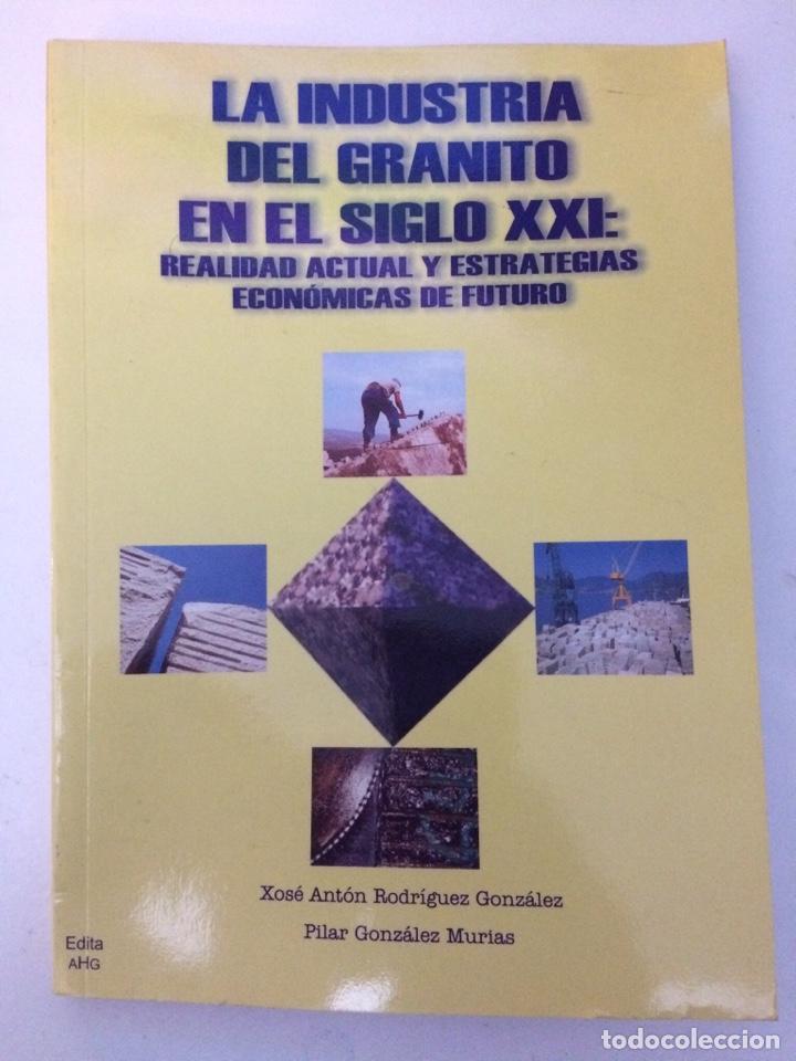 LA INDUSTRIA DEL GRANITO EN EL SIGLO XXI: REALIDAD ACTUAL Y ESTRATEGIAS ECONÓMICAS DE FUTURO. (Libros de Segunda Mano - Ciencias, Manuales y Oficios - Paleontología y Geología)