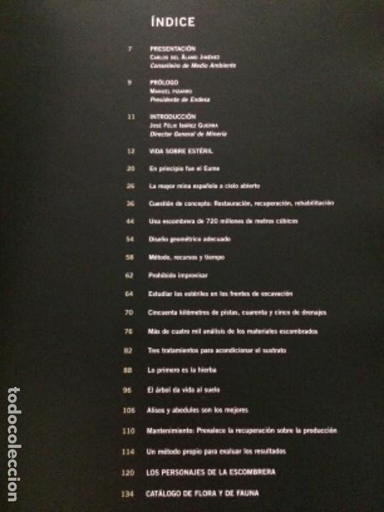 Libros de segunda mano: Vida sobre estéril. La rehabilitación de la escombrera exterior de la mina de As Pontes - Foto 2 - 152054054