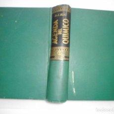 Libros de segunda mano de Ciencias: LUIS BLAS AGENDA DEL QUÍMICO Y92588. Lote 152150714