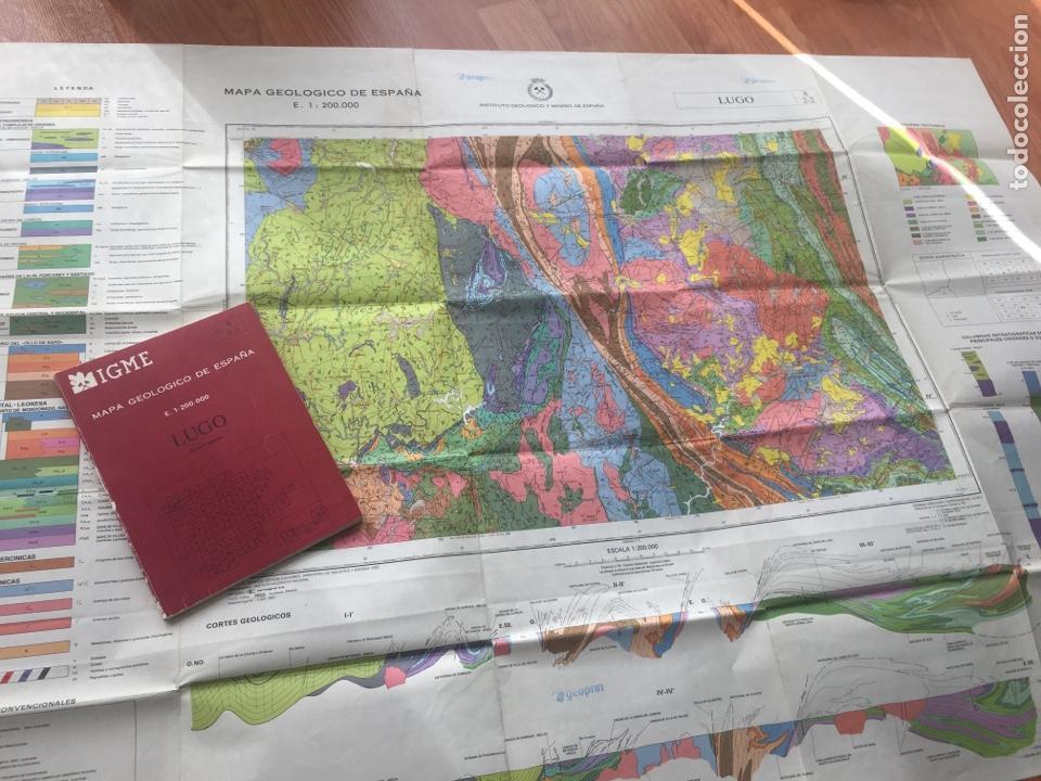 Libros de segunda mano: IGME LIBRO Y MAPA GEOLOGICO DE ESPAÑA HOJA 8 LUGO ESCALA 1: 200000 PRIMERA EDICION - Foto 6 - 152153154