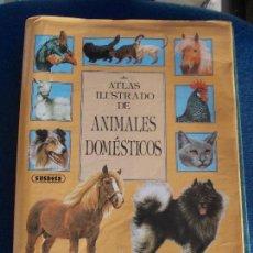 Libros de segunda mano: ATLAS ILUSTRADO DE ANIMALES DOMESTICOS 300 RAZAS. Lote 152282578