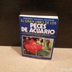 Libros de segunda mano: EL GRAN LIBRO DE LOS PECES DE ACUARIO...1991..... Lote 152323670