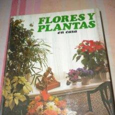 Libros de segunda mano: FLORES Y PLANTAS EN CASA - EDIT. HMB 1978. Lote 152464334