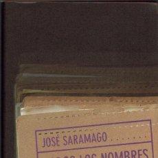 Libros de segunda mano: TODOS LOS NOMBRES, POR JOSÉ SARAMAGO. AÑO 1998. (6.5). Lote 152499610