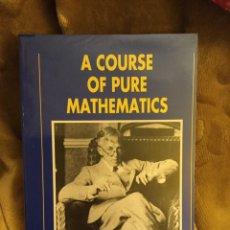 Libros de segunda mano de Ciencias: A COURSE OF PURE MATHEMATICS. HARDY. ANALISIS MATEMATICO. Lote 152596304