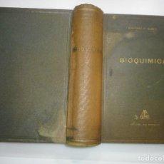 Libros de segunda mano de Ciencias: SANTIAGO PI SUÑER BIOQUÍMICA Y92675. Lote 153052290