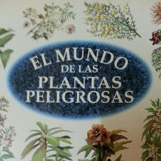 Libros de segunda mano: EL MUNDO DE LAS PLANTAS PELIGROSAS - EDMUND CHESSI - ULTRAMAR ED. - AÑO 1998 (ILUST). Lote 141866174