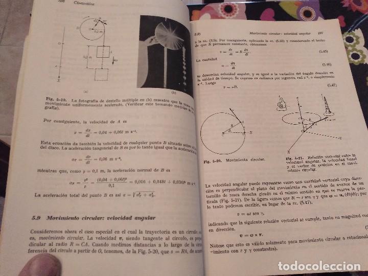 Libros de segunda mano de Ciencias: FISICA MECANICA VOL 1 EDICION REVISADA Y AUMENTADA POR MARCELO ALONSO Y EDWARD J. FINN 1976 - Foto 6 - 153980934