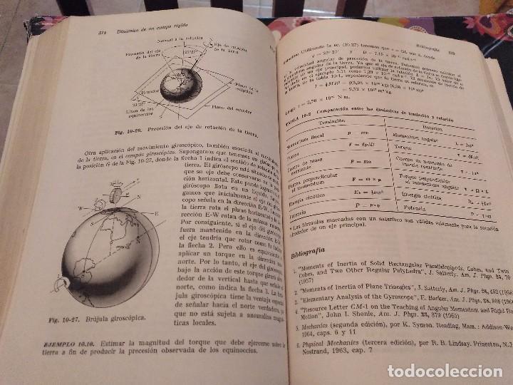 Libros de segunda mano de Ciencias: FISICA MECANICA VOL 1 EDICION REVISADA Y AUMENTADA POR MARCELO ALONSO Y EDWARD J. FINN 1976 - Foto 9 - 153980934