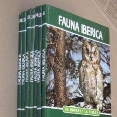 Libros de segunda mano: LOTE DE 7 LIBROS DE FAUNA IBERICA -EL HOMBRE Y LA TIERRA - FELIX RODRIGUEZ DE LA FUENTE.. Lote 154005626