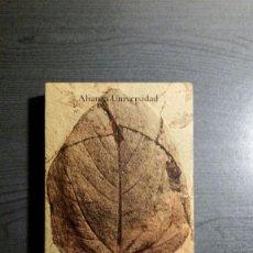 Libros de segunda mano: LAS EPOCAS DE LA NATURALEZA GEORGES-LOUIS LECLERC BUFFON. ALIANZA. Lote 154046198