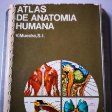 Libros de segunda mano: ATLAS DE ANATOMÍA HUMANA EDICIONES JOVER. Lote 154247226