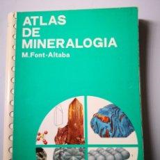 Libros de segunda mano: ATLAS DE MINERALOGÍA EDICIONES JOVER. Lote 154248674