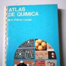 Libros de segunda mano de Ciencias: ATLAS DE QUIMICA EDICIONES JOVER. Lote 154249242