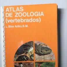 Libros de segunda mano: ATLAS DE ZOOLOGÏA DE VERTEBRADOS- EDICIONES JOVER. Lote 154272506