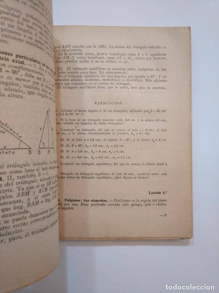 Libros de segunda mano de Ciencias: GEOMETRÍA Y SU METODOLOGÍA Y TRIGONOMETRÍA. 1953. ALFONSO GIRONZA. TDK373 - Foto 2 - 154621366