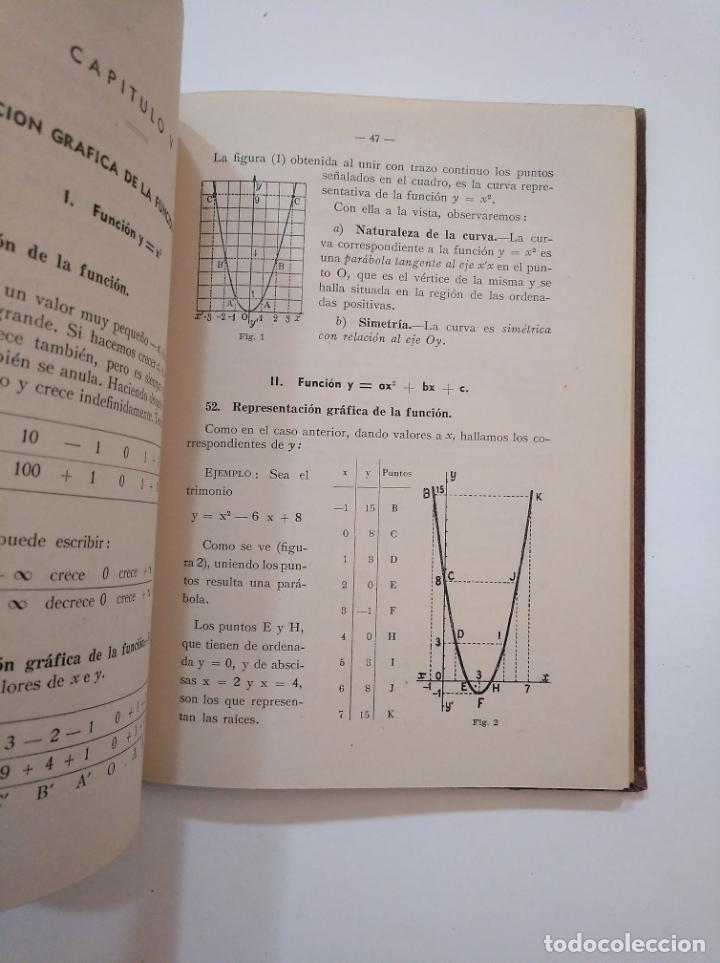 Libros de segunda mano de Ciencias: MATEMATICAS. CUARTO CURSO DE BACHILLERATO. PLAN 1953. EDICIONES BRUÑO. TDKLT - Foto 2 - 154624206